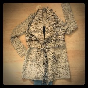 Gorgeous Lucky Brand Trench Style Sweater